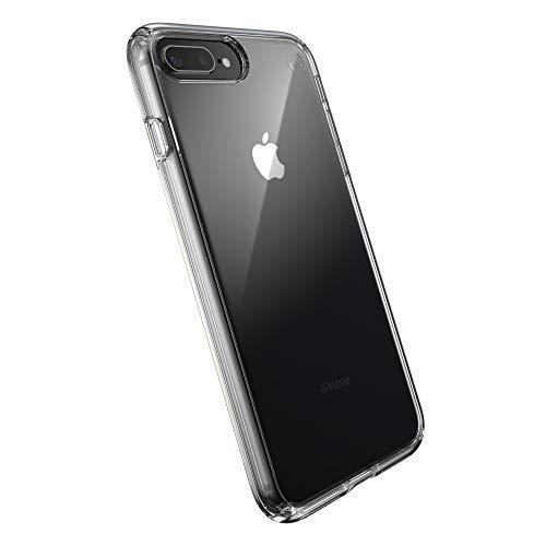Speck Products Presidio Perfect-Clear - Custodia per iPhone 8 Plus/iPhone 7 Plus, trasparente/trasparente