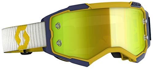 Scott Fury MX Works - Gafas de motocross y MTB, color amarillo, azul y amarillo