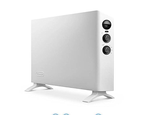 DeLonghi HSX 3320 Konvektor, Slim Style Design, weiß