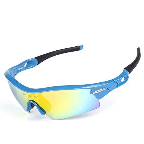 Gafas De Ciclismo Gafas de sol polarizadas intercambiables deporte de la lente...