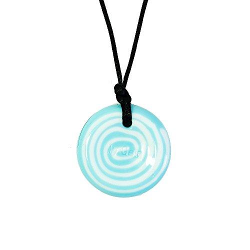Chewigem - Collar masticable de botones, juguete para moler, ideal para pacientes de autismo, diseño sensorial