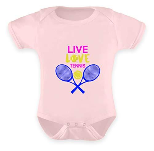 Schuhboutique Doris Finke UG (haftungsbeschränkt) Live Love Tennis - Baby Body -6-12 Monate-Puder Rosa