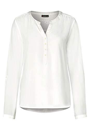 Street One Damen 341685 Bluse, Elfenbein (Off White 10108), (Herstellergröße:42)