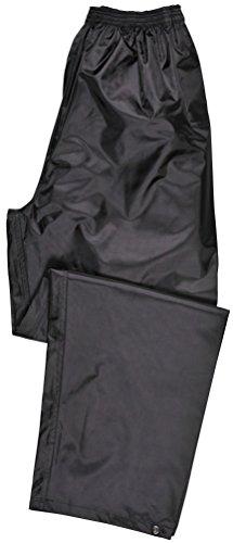 Portwest Klassische Regenhose für Erwachsene Unisex, Farbe: Schwarz, Größe: XL, S441BKRXL