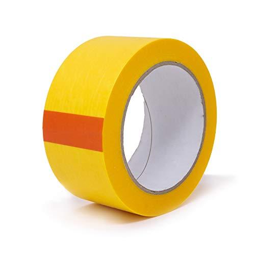 gws Goldband dünnes Profi-Abdeckband | Washi-Tape mit orginal japanischem Reispapier | versch. Breiten | Länge: 50 m | Maler-Klebeband (1 Rolle - 50 mm breit)