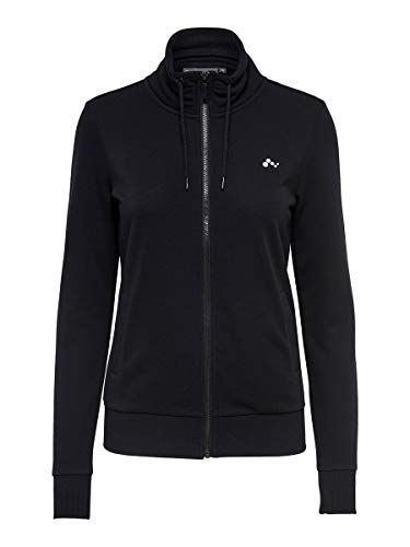 Only Onpelina High Neck Sweat-Opus Sudadera, Negro (Black Black), Small para Mujer
