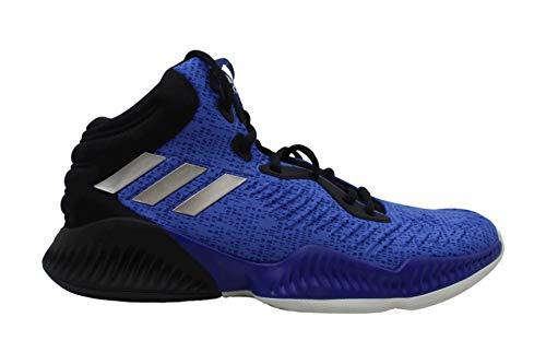 adidas Mad Bounce 2018 - Zapatillas de baloncesto para hombre (azul/negro, 14D (M) EE. UU.)