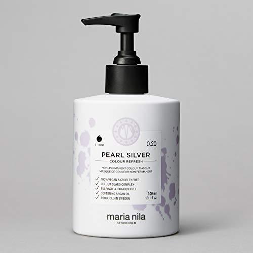 Maria Nila Colour Refresh - Pearl Silver 300ml | Eine revolutionäre Farbmaske für ein klares, kühles Farbergebnis