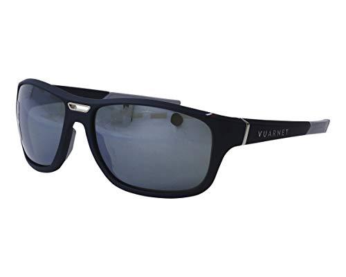VUARNET Occhiali da sole Wide Racing (VL-1928 00061123) blu scuro - blu opaco - verde - argento a specchio