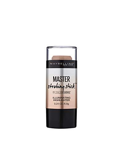 Maybelline Master Strobing Stick Iluminador, Tono 300 Dark pieles morenas. - 9GR