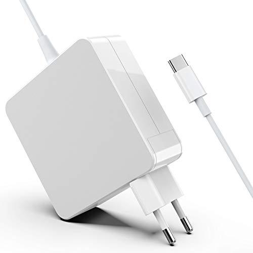 Cargador Rocketek 87W USB C, Compatible con Todos Los Teléfonos Inteligentes Y Portátiles con Puerto USB C o C, Apto para Nuevos Modelos De Mac Pro & Air, Lenovo, ASUS, Huawei, HP, etc.