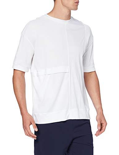 FALKE Męska koszulka Asse1 T-shirt męski biały biały XL