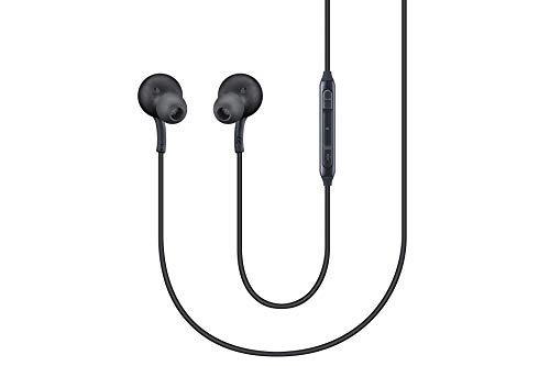 AKG- Cuffie, Auricolari, Headset per Samsung Galaxy S8 e S8 Plus, Nero