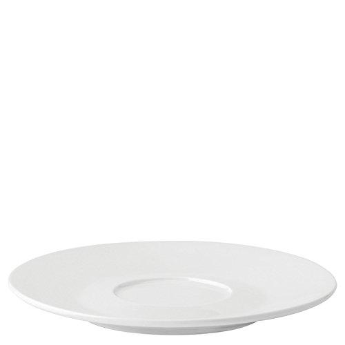 Utopia Anton Noir en porcelaine fine Z03292–000000-b01006 Coupé Soucoupe, 17,8 cm (lot de 6)