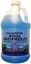 Swimming Pool Anti-Freeze | -50 Degrees | 1-Gallon Bottle - Premium, Commercial Quality