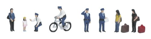 Kato 24-232 Policemen [Toy] (japan import)