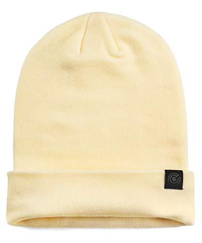 Super Soft Warm Beanie Hat - Softness You Never Felt Before - Cozy Comfy Winter Beanie - (17-WT) Cream