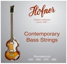 Hofner Contemporary Round Sales A surprise price is realized results No. 1 Wound Bass Strings 40-95
