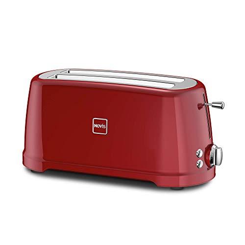 Novis Toaster T4, rot