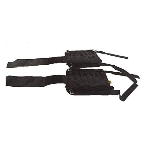 Leoboone verstelbare arm / trainingspak voor enkelgewichten zandzak 1-20 kg training met gewichten voor boksen, gym