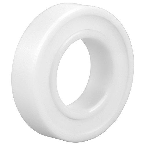 6902-2RS Rodamiento completo de cerámica, rodamiento de circonio rodamiento de cerámica sellado ZrO2 15 × 28 × 7 mm