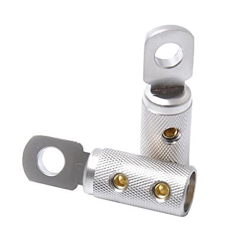 2x conector de terminal de bala, acoplador de cable, calibre 4GA AWG,...