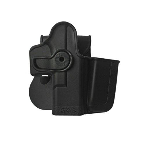 IMI Defense Tactical Concealed Retention Holster Integrated Magazine GK3 Glock 17 22 31 19 23 32 36 Pistol