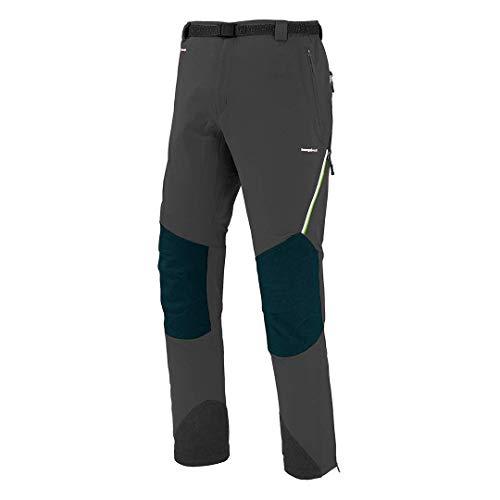 Trangoworld pc007742 – 661-xlc Pantalon Long, Homme, Gris (Ombre Foncé/Noir, XL