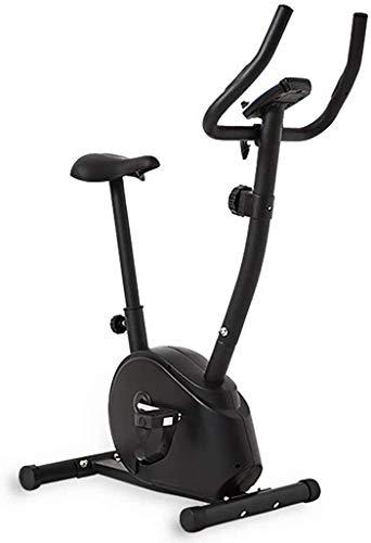 Máquinas de step Bicicletas de ejercicio Ejercicio Cruz bicicletas entrenador de bicicleta de ejercicios for el hogar la bicicleta estática plegable de 8 velocidades magnética Resistencia Ajuste Mini