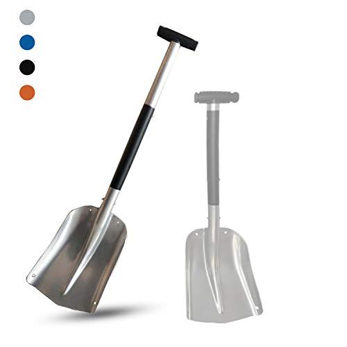Deacroy Retractable Gardening Shovel3 Piece Compact Digging Shovel26#039#03932#039#039 Lightweight Sport Utility Shovel for Car Emergency Outdoor Camping Snow and Garden