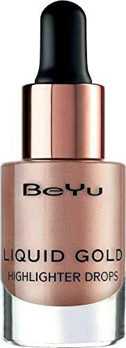 BeYu MakeUp Liquid Gold Highlighter Drops Nr.02 Luminous Rosegold 13ml