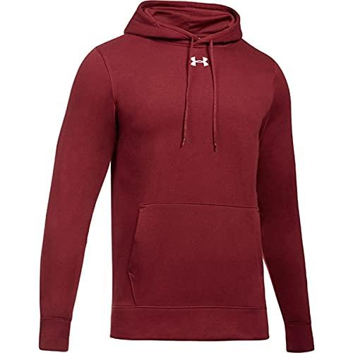 Under Armour UA Hustle Fleece-Hoodie für Herren, Rot