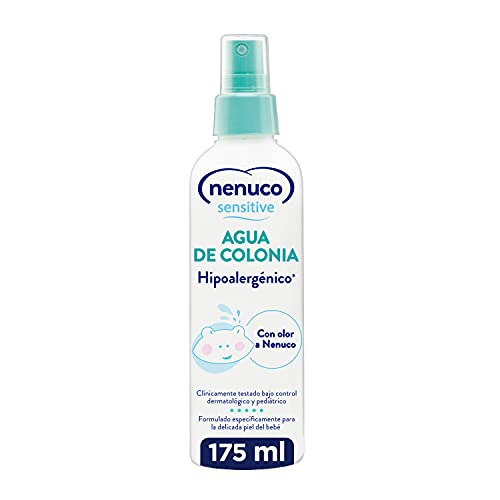 Nenuco Nenuco Sensitive Agua de Colonia Hipoalergénica Sin Alcohol para Bebé - Adecuado para Cuerpo y Cabello - 175ml 180 g