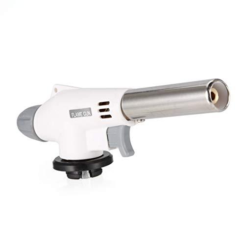 SHTAO Vent entièrement Automatique Pistolet à Flamme électronique brûleurs au Butane Adaptateur de gaz Torche randonnée équipement de Camping Outil de soudage Torche à gaz
