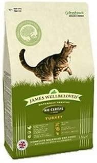 James Wellbeloved Cat Food Turkey And Vegetables Adult No Cereals 1.5kg