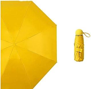 Paraguas de bolsillo Paraguas ultraligero pequeño y fresco Paraguas de doble propósito Diosa Protector solar Paraguas para...