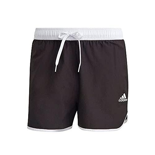 adidas GQ1077 Split CLX SH Swimsuit Mens Black/White L