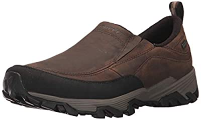 Merrell Men's COLDPACK ICE+ MOC Waterproof Snow Boot, Brown, 12 M US