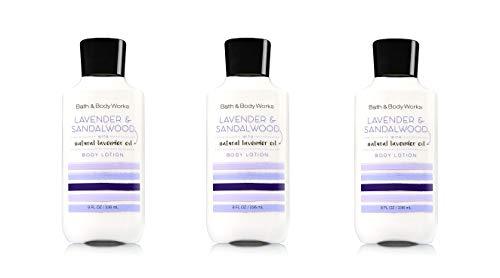 Bath & Body Works Lavender & Sandalwood Body Lotion - Lot of 3
