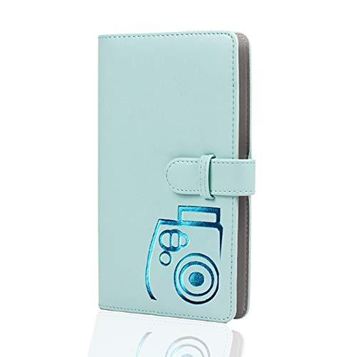 XYDZ 96 Fotos Álbum de Fotografías Mini, Álbum de fotos (Azul claro,11.5...