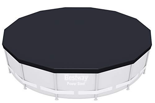 Bestway - Bâche 4 saisons pour piscine hors sol ronde Power Frame diamètre 427 cm