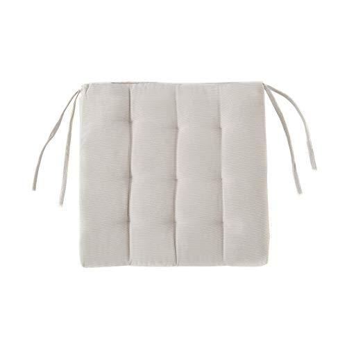 Almohadillas de esponja estilo japonés para asiento de oficina, estudiantes, tatami, sofá, silla, restaurante, jardín, silla, cojín muy para actividades al aire libre, camping (2 unidades)