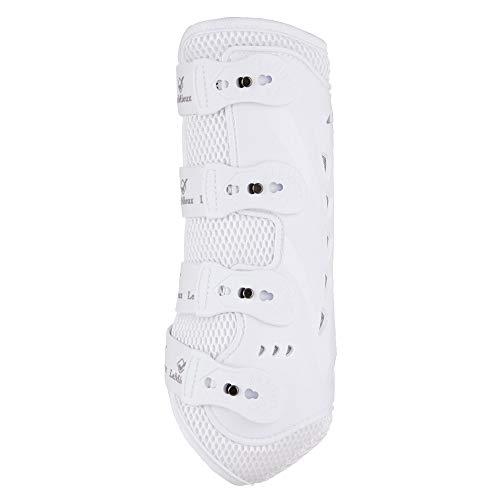 LeMieux Snug Boot Pro White Front Horse Boots, Unisex-Adult, Medium