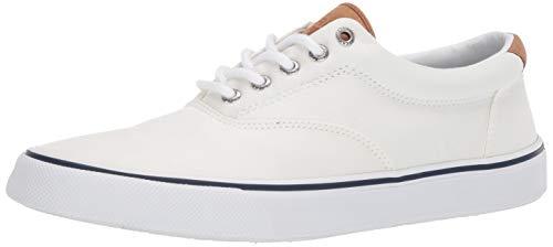 Sperry Men's Striper II CVO Core sneaker, SW White, 10.5 M