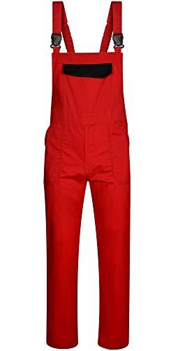 DINOZAVR Delta Herren Arbeitskleidung Arbeitslatzhose - Rot L