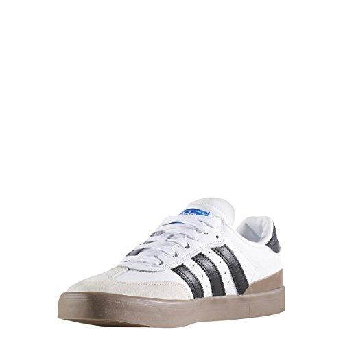 adidas Skateboarding Busenitz Vulc Samba Edition, ftwr white-core black-bluebird, 6