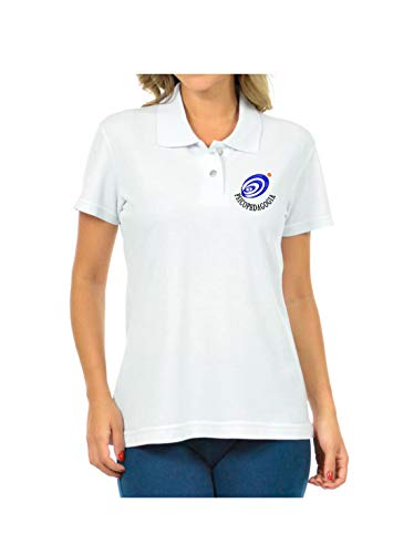 Camisa Polo Feminina Simbolo Curso Psicopedagogia Bordado