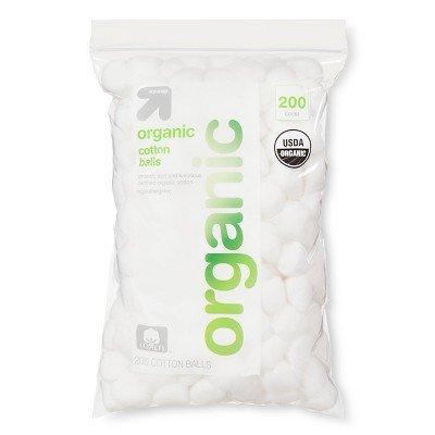 Organic Cotton Balls - 200ct - up & up™
