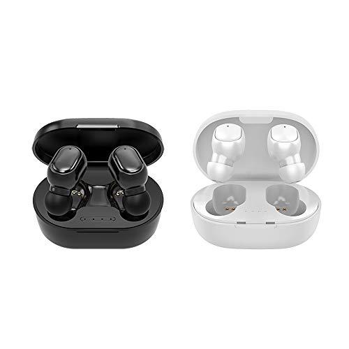 Kshzmoto A6S Wireless BT Kopfhörer Stereo Mini Design Wasserdichtes Ear-In Headset für Fahrzeug/Sport Android/IOS Schwarz