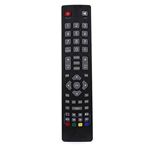 Ersatz Fernbedienung Kompatibel für Sharp LC-32CFF5112E Full HD Active Motion 100 DVB-T/T2/C/S2